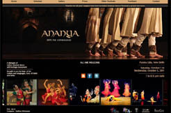 Ananya Dance Festival,  October 1  to October 5, 2011