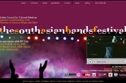 The South Asian Bands Festival, December 11 to December 13, 2009